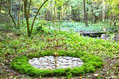 Mitten im Wald - das Pendel.