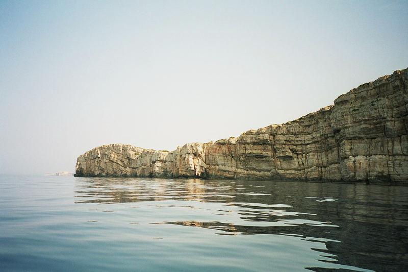 Mitten in den Kornati-Inseln