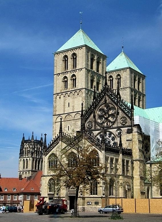 Mitten in Münster . . . .