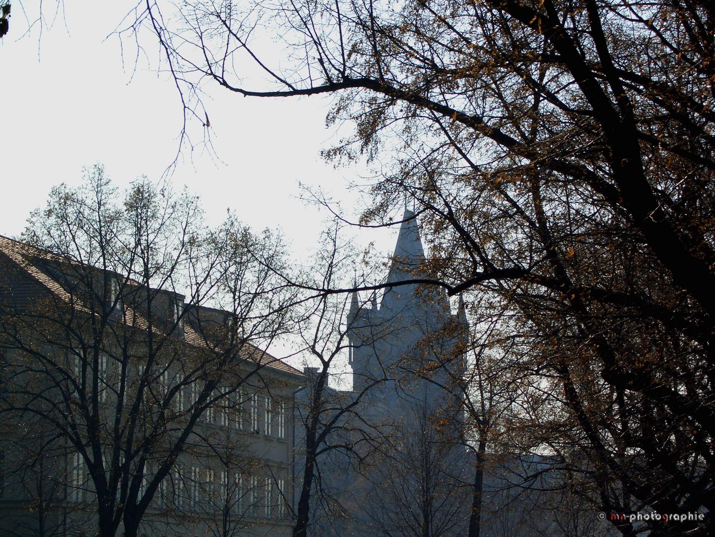 Mitten in Prag