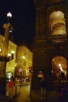 mitten in Prag nachts