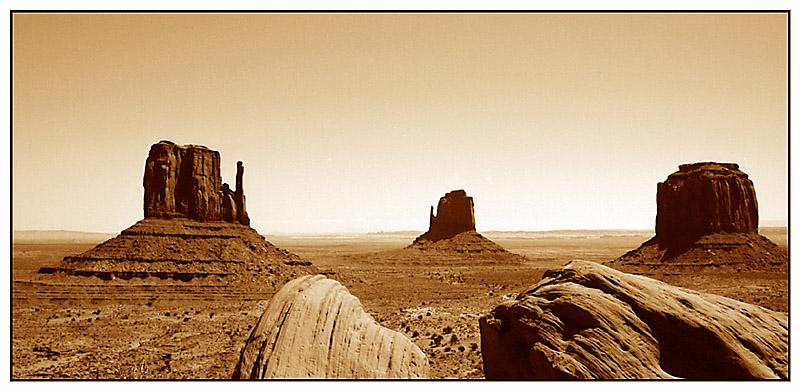 Mittens View - Monument Valley Tribal Park, Arizona; USA