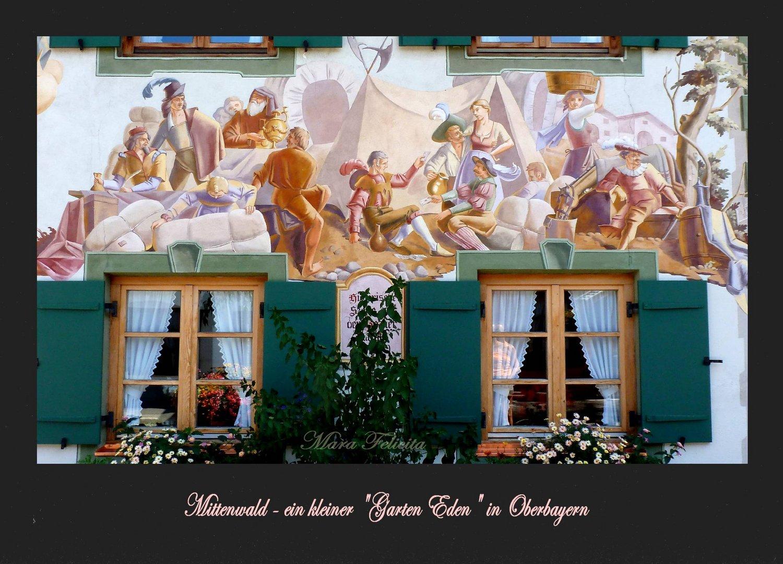 MITTENWALD - kleines Paradies in Oberbayern