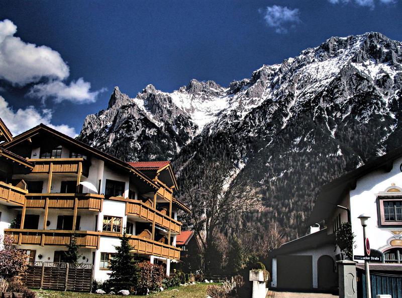 Mittenwald unterm Karwendel
