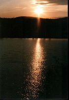 Mitternacht am Ivalosee