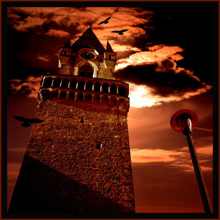 Mitternacht - die Raben kreisen..........