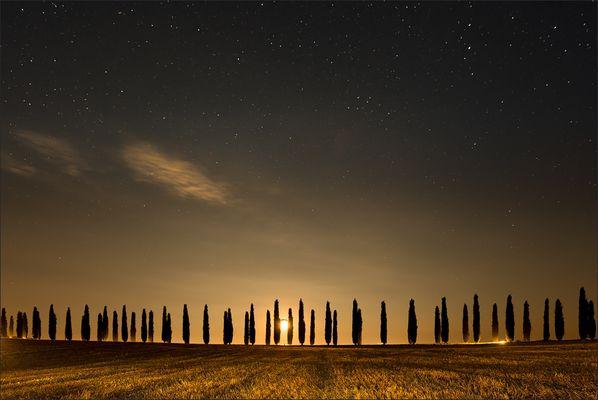 Mitternacht in der Toskana