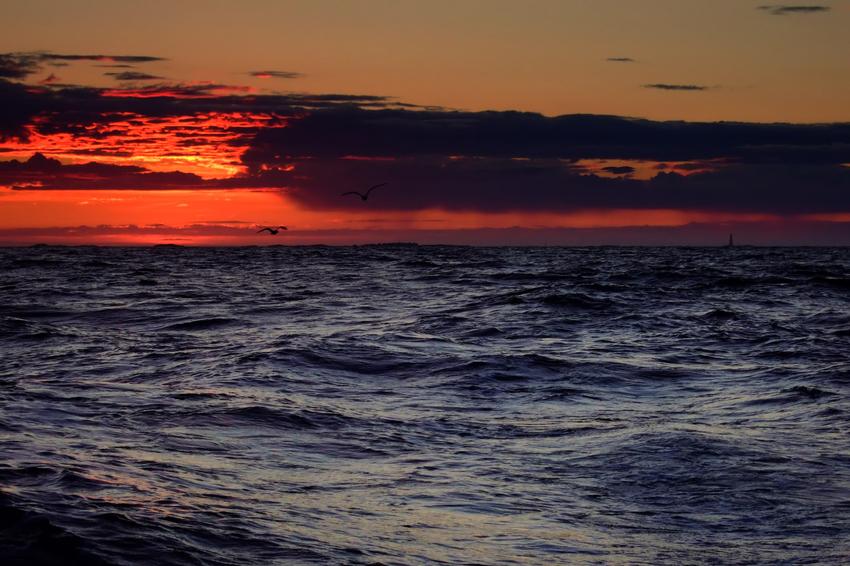 Mitternachtsangeln auf dem Atlantik I