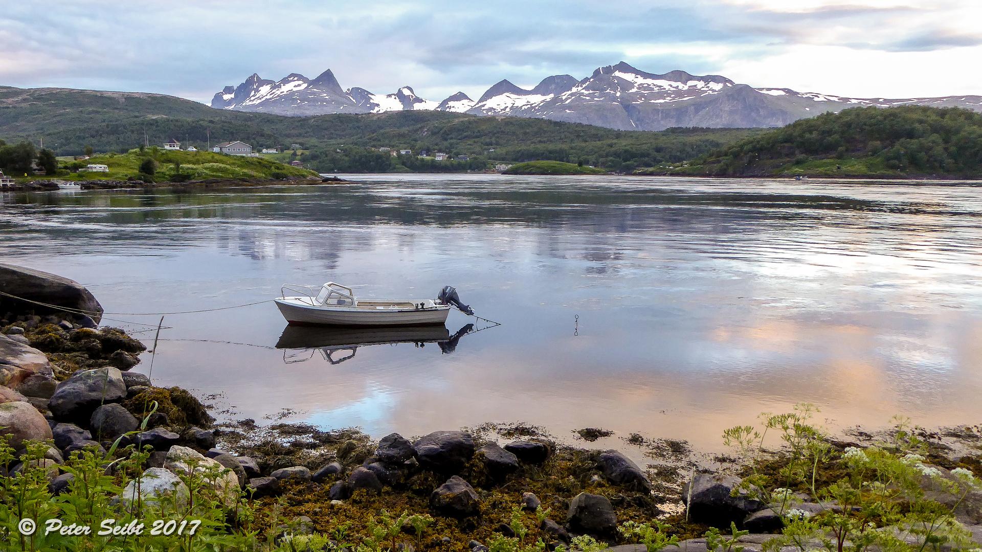 Mitternachtssonne im Nordland