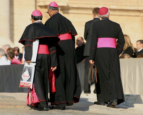 Mittwochs in Rom - erst zum Aldi, dann zum Papst