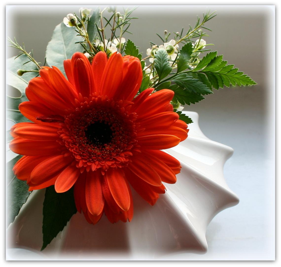 Mittwochsblümchen - orange