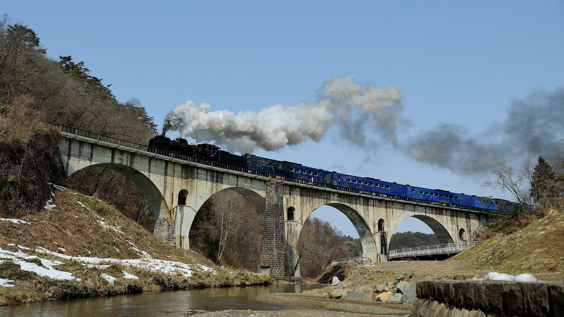 Miyamorigawa Arch-Bridge