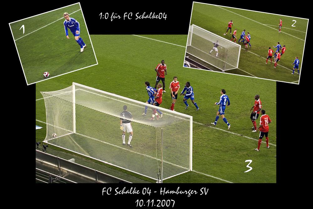 Mladen Krstajic zum 1 zu 0 gegen den HSV