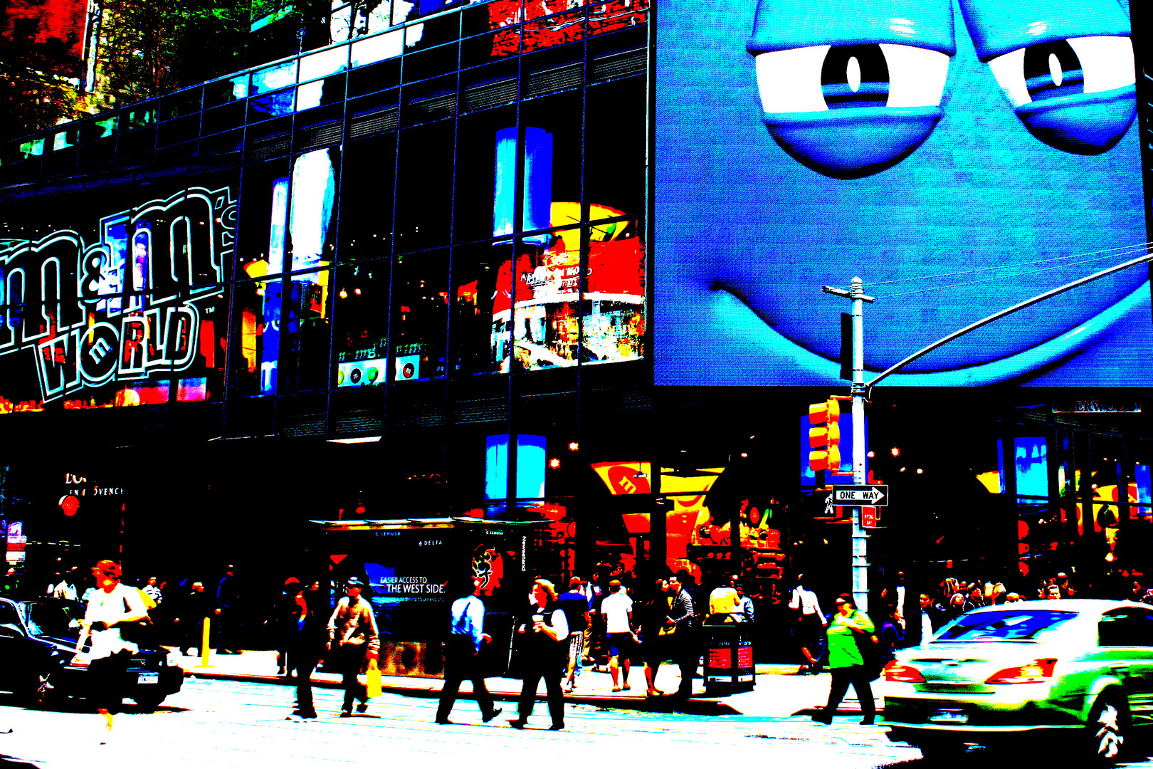 M&M's Times Square New York City