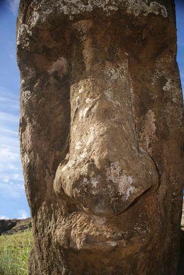 Moai´s am Ranu Raraku - Rapa Nui (Osterinsel) 2
