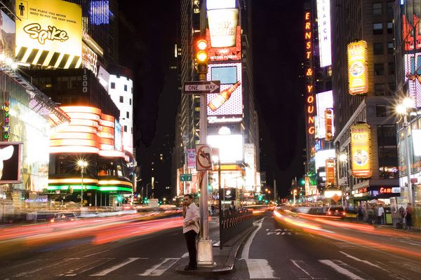 MobileFlat am Timesquare in NY
