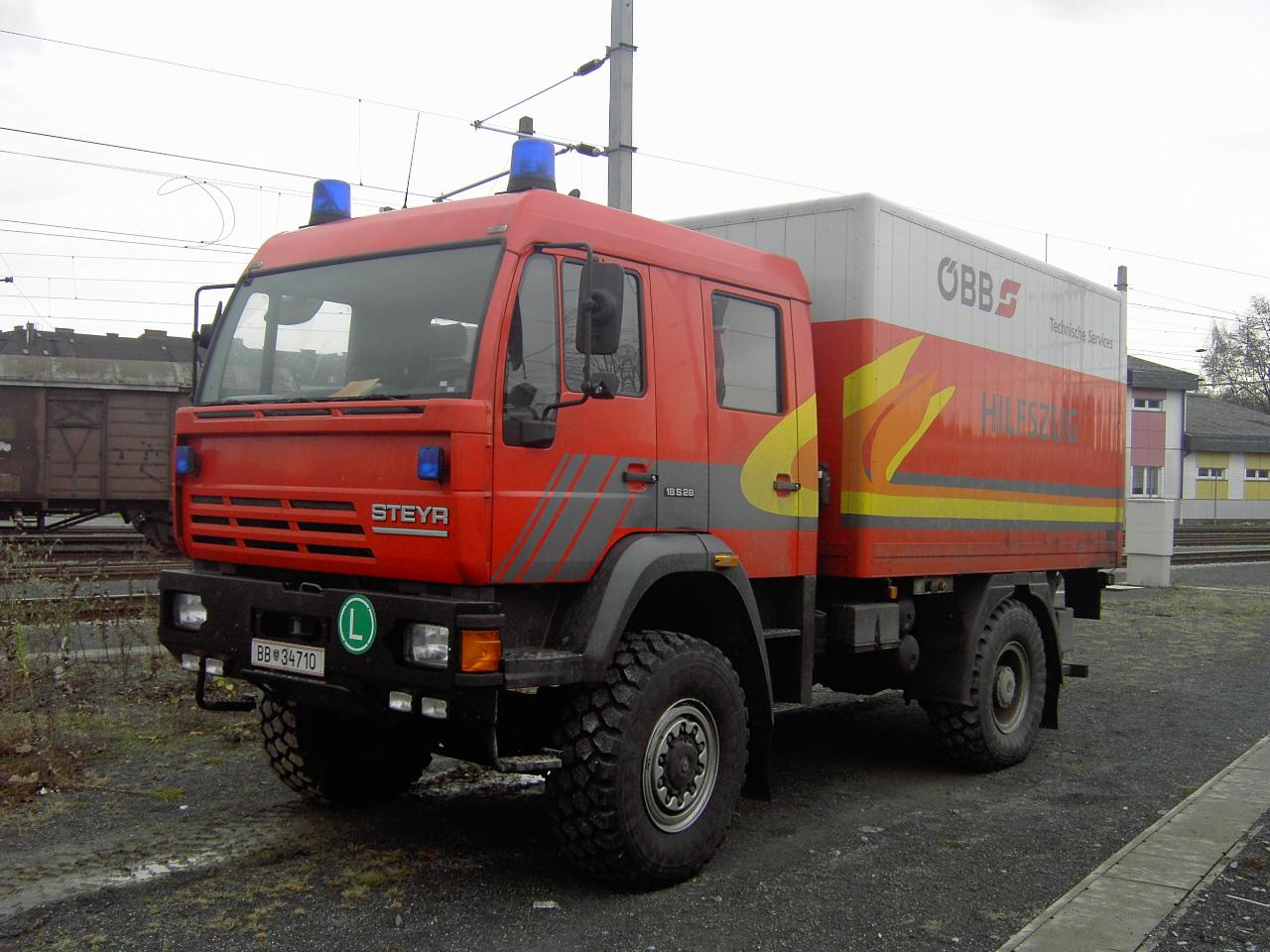 Mobiler Hilfszug Linz, Technische Services