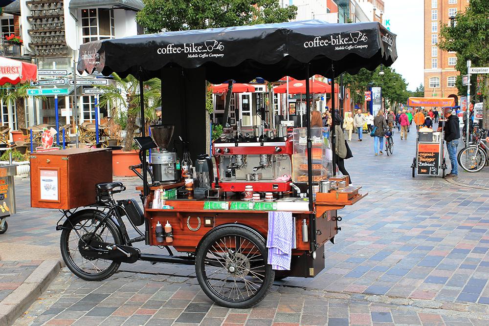Mobiler Kaffeeshop