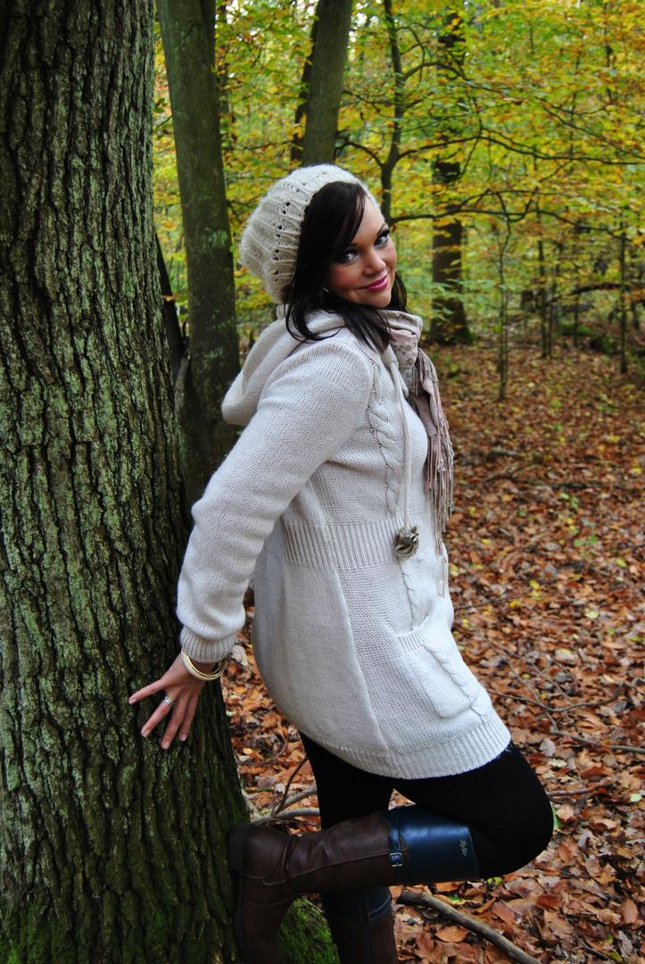 Mode mal im Wald