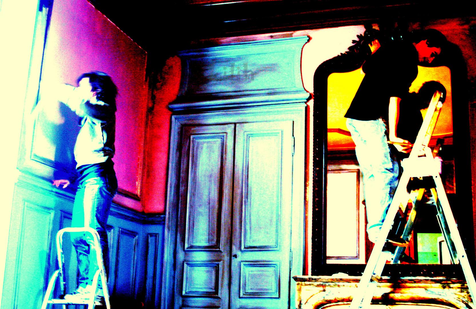 Mode peinture .