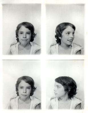 Model Jan Röthel als ungefähr 12 jähriger