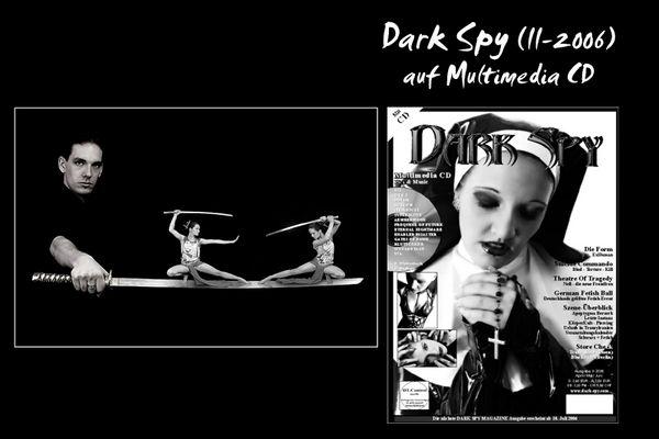 Model Jan Röthel goes Dark Spy