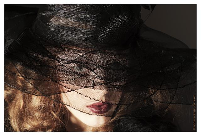 Model Jeanny, Stil der 30er, Motiv4