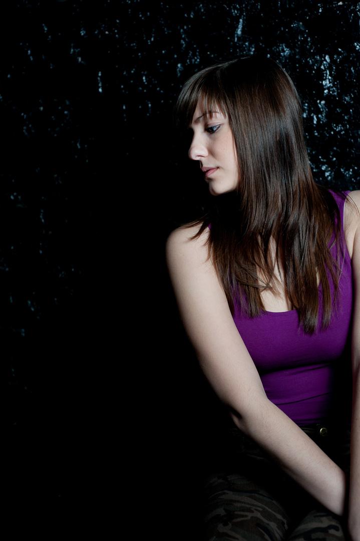 Model Jessy aus Köln beim Fotosooting im Studio 2013