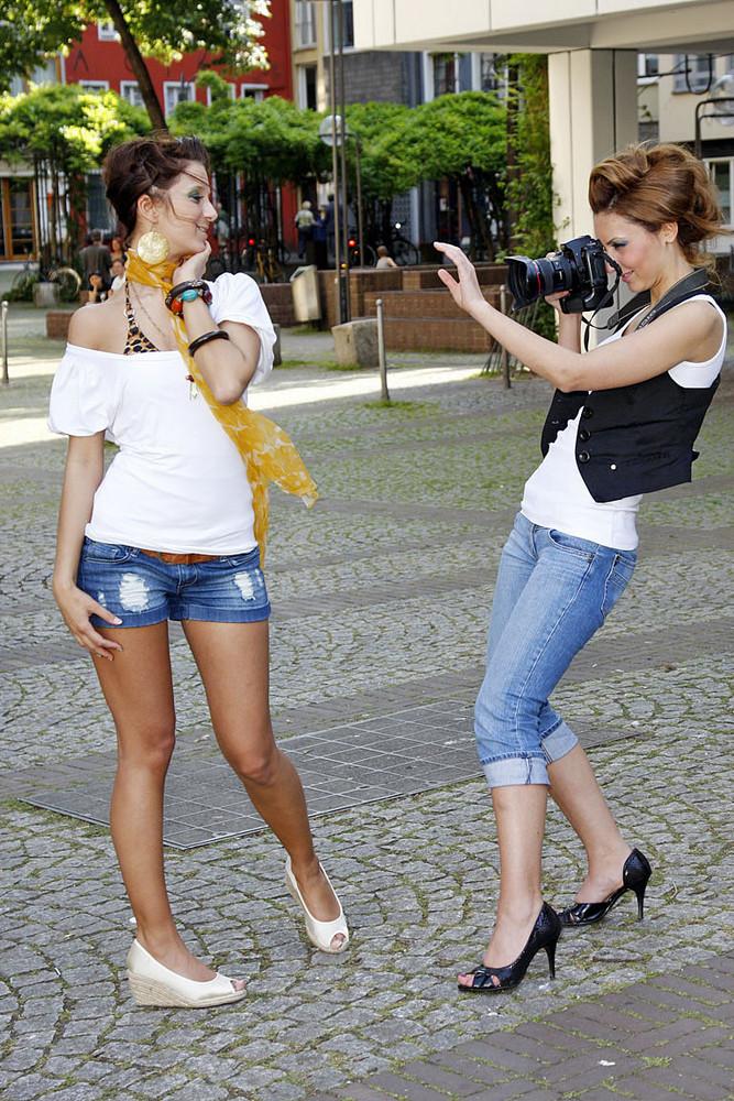 Model: Manuela M. und Model und Visa: DEJAVUE