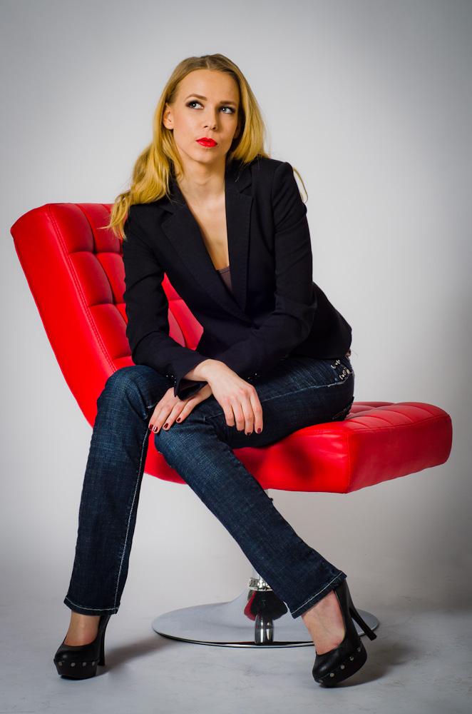 Model Marlene im Studio 03