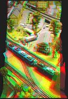 Model Railway 3D [Anaglyph]