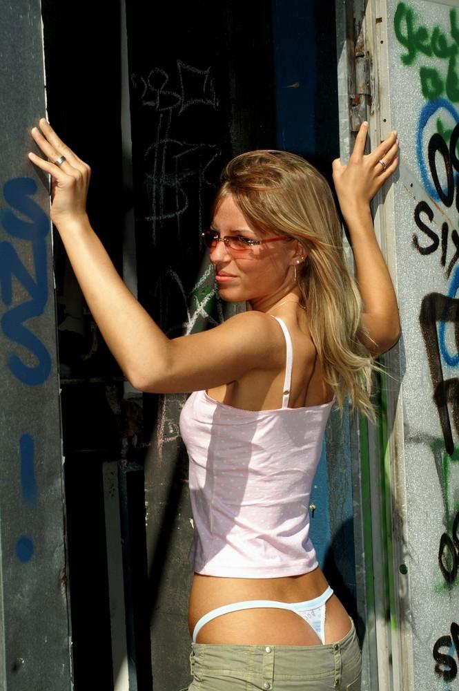 Model Steffi in der Alten Fabrik