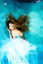 Model Unterwasser Fotoshooting