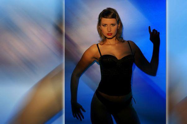 Modell Bara (Barbora Lanova) & Visagistin Anne Cox