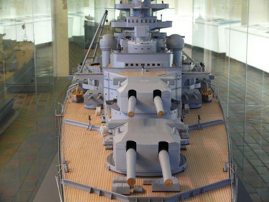 Modell der Bismark