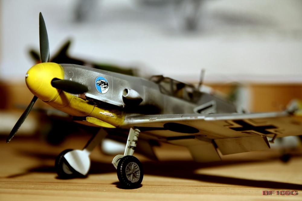 Modell einer BF109G