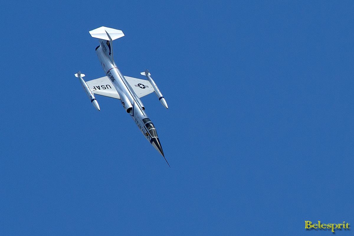 Modell einer Lockheed F-104 Starfighter