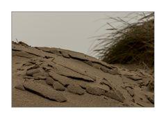 Modell für Küstenabbruch