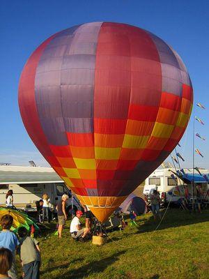 Modell-Heißluft- Ballon