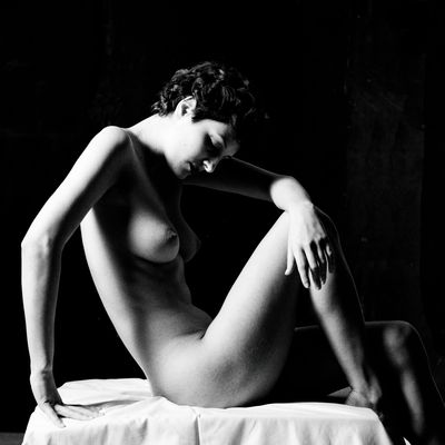 Modella Edy - Omaggio a Irving Penn