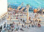 Modellansicht: Zugang zur Piazza di San Marco