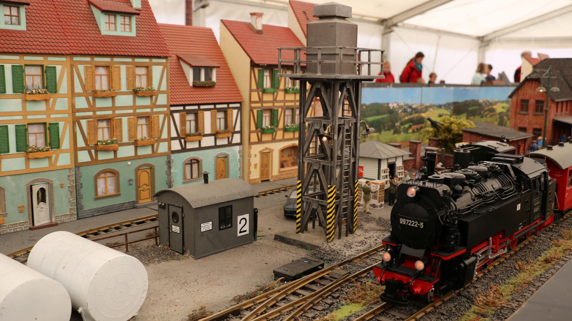 Modelltage Thüringen 2014 Schöngleina