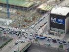 (MODELL)Welten 1:1 Kreuzung in Cincinnati