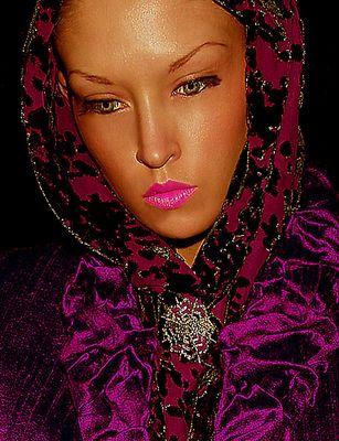 Modelo retrato - diseñador de moda Torsten Amft / model portrait - fashion designer Torsten Amft