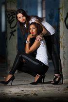 Models: Fabi und Maria