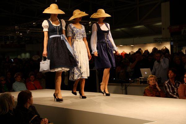 Modenschau auf der internationalen Handwerksmesse 13.3.2014