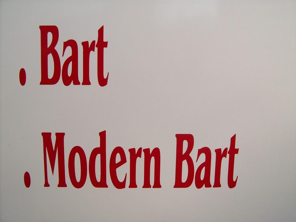 Modern Bart - - - - - für Olli.: was ich trinke