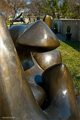 Modern sculpture...............