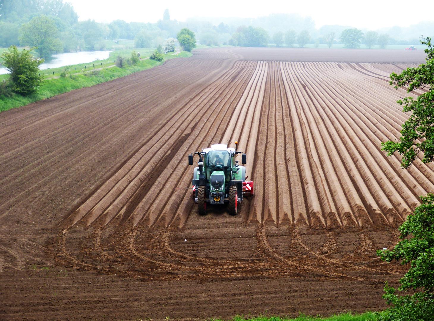 Moderne Agrartechnik