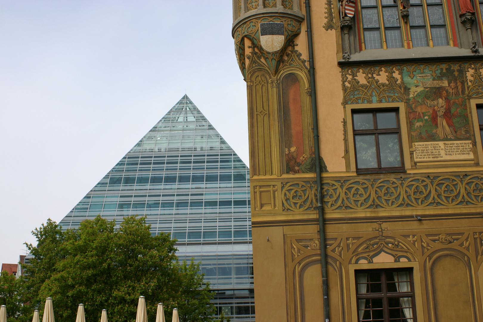 Moderne Architektur in Ulm